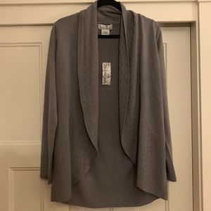 NWT Gray Cardigan